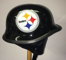 Custom Concept Pittsburgh Steelers Football TCMT Motorcycle Helmet Size XL NEW!!