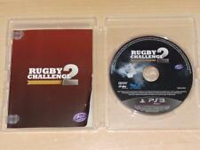 RUGBY CHALLENGE 2 PS3 Playstation 3 (NO cubierta)