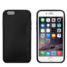 """Screen Protector/S line Skin Soft Gel Back Case For iPhone 6 /6s 4.7"""" inch"""