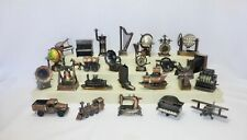 Vintage Lot Of 25 Die Cast Metal Collectible Pencil Sharpeners Figurines RARE