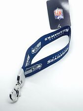 NFL Seattle Seahawks Wristlet Lanyard Keychain Officially Licensed