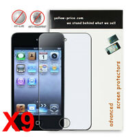 9pcs iPod Touch 4th Anti-glare / Matte Screen Protector Films- Japanese Material