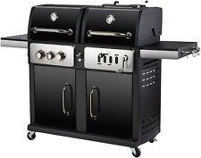 "Kombigrill Gasgrill und Holzkohlegrill ""Cheyenne"" von El Fuego® Grill Smoker BBQ"