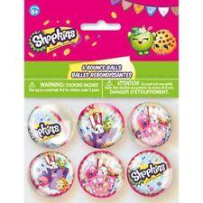 Shopkins 6 Bounce Balls Birthday Party Supplies