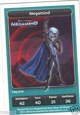Carte Carrefour Dreamworks n° 146/216 - Megamind - Série Megamind (A3431)