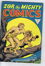 Zor the Mighty Comics #2 Century (Superior)1946 CANADIAN EDITION UK Distribution