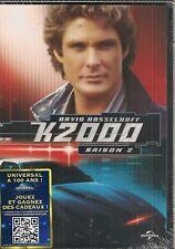 """DVD """"K2000, saison 2""""     Coffret 6 DVD - NEUF SOUS BLISTER"""