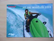 brochure publicitaire   JET SKI -  KAWASAKI     en   2006 ref. 54100