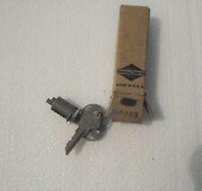 NOS - 1941 thru 1950 Hudson Trunk Lock Cylinder with Keys