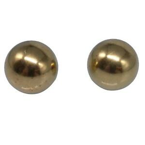 """US Stock Pack of 2 Balls 3/4"""" 19.05mm Solid Brass Bearing Balls"""