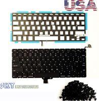 "100% New APPLE Macbook Pro Unibody 13"" OEM A1278 Keyboard w BackLight +Screws"