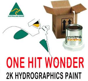 HCA ONE HIT WONDER Hydrographic 2K Base paint / primer 1.25Kit