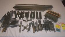 """Tyco HO Track Bundle w/ Lots of 36"""" Straight Pieces"""