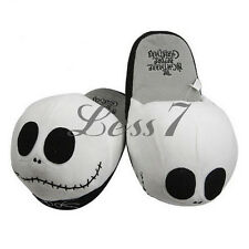 Home Shoes The Nightmare Before Christmas Plush Slippers Halloween Cosplay