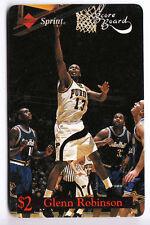 NCAA Purdue Boilermakers Glenn Robinson #13 PHONECARD 1997 Score Board SRINT