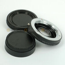 For Minolta MD/MC Lens to Nikon Body Mount Adapter Ring Infinity focus w/ Glass