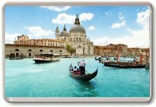 Venice Gondolas Fridge Magnet 02 Free Postage