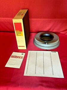 Kodak Carousel Transvue 140 Slide Tray In Box B140T