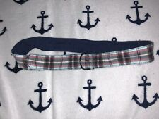 Babystyle Boys Plaid Cotton Adjustable Belt One Size Blue/Red/Navy SELLING TONS!