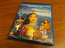 Pocahontas I & II - 2 Movie Collection (Blu-ray, DVD, 3-Disc Special Edition)