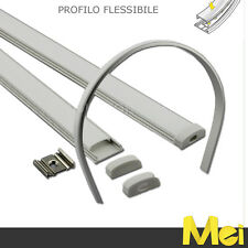 J029 profilo di alluminio flessibile per striscia led barra da 2mt