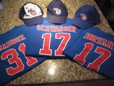 3 Iowa Cubs SGA Jersey T Shirts Hat Cap Kris Bryant Greg Maddux Kyle Schwarber