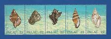 Palau (154a) 1987 Seashells Mnh strip