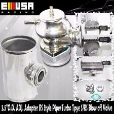 """3.5""""O.D. ADJ. Adapter RS Style Pipe+Turbo Tpye S/RS Blow off Valve  BOV"""