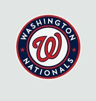 Washington Nationals MLB Baseball Color Logo Sports Decal Sticker-Free Shipping