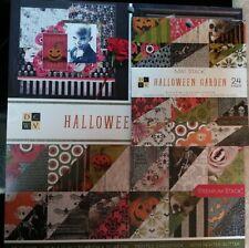 12x12 Scrapbook Paper Pad Halloween Garden Shop Horror eye skeleton skull jack