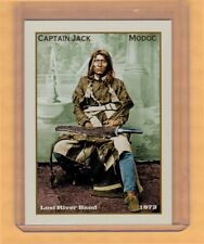 Captain Jack, Superior Legends of the West rare Modoc warrior/chief Kintpuash