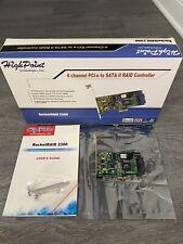 Highpoint RocketRaid 2300 4 Channel pci-e to SATA2 Raid Controller