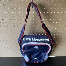 BMW motorsport - Puma Small Messenger Bag Or Crossbody Bag Pouch - Navy Blue