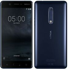 "Nokia TA-1024 5 4G 5.2"" teléfono inteligente 16GB Sim Libre Desbloqueado Android-Azul {} C"