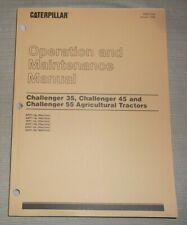 Cat Caterpillar 35 45 55 Challenger Tractor Operation & Maintenance Book Manual
