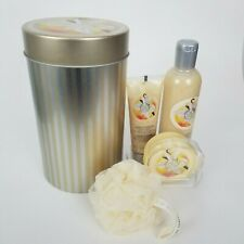 New Body Shop Gift Set Vanilla Brulee Body Polish Brulee Shower Gel Body Butter