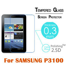 Tempered Glass Screen Protector for Samsung Galaxy Tab 2 P3100 P3110 (7.0, 3G)