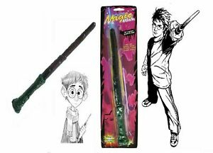Wizard Magic Wand Light Up With And Without Sound Boys Wooden Look Magician Toys