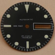 Zifferblatt für ETA 2836-2 / WATCH DIAL for ETA 2836-2 SUB SWISS SW220 26mm NOS