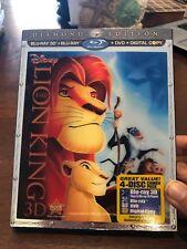 Lion King Diamond Edition 3D/Blu-Ray/Dvd (Digital Copy NOT included)