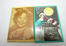 Shirley Temple Mirror Lot of Two Merry Christmas & Hi Everybody