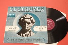 ABL 3157 PHILIPS LP Beethoven The Complete String Quartets No.9 & 10 Budapest