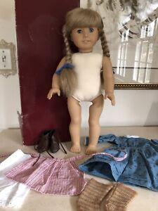 American Girl Doll KIRSTEN White Body Pleasant Company In BOX!