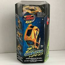 2009 Air Hogs Zero Gravity Nano Remote Control Car Yellow Spin Master New In Box