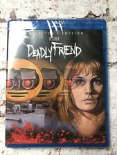 Deadly Friend Collector's Edition Scream Factory USA Blu-Ray Brand New Sealed