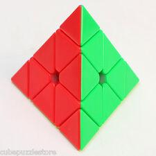 Z 3x3 Pyraminx Pyramid Magic Cube Twisty Puzzle Fancy Toys Gift Stickerless 69mm