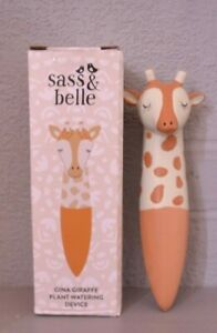 Sass Belle Giraffe watering spike New and Boxed