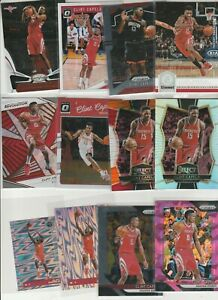 CLINT CAPELA LOT (27) DIFFERENT W/ 7 INSERTS PRIZM SELECT SILVER TRICOLOR PINK