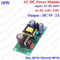 AC-DC Converter Power Supply AC110V 220V To 5V 2A Switching Transformer Module