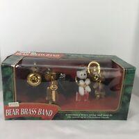Mr Christmas Bear Brass Band 21 Christmas Carols Vintage 1995